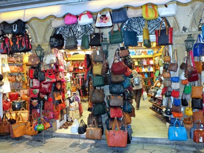 Shopping in Corfu Town