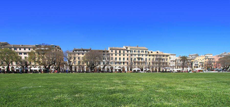 Spianada Square Corfu Town